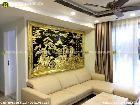 Tranh thuận buồm xuôi gió là bức tranh rất đẹp phù hợp để trang trí phòng khách, phòng làm việc