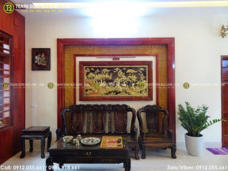 Tranh vinh quy bái tổ là bức tranh mà ai cũng có thể dùng để trang trí trong căn nhà của mình